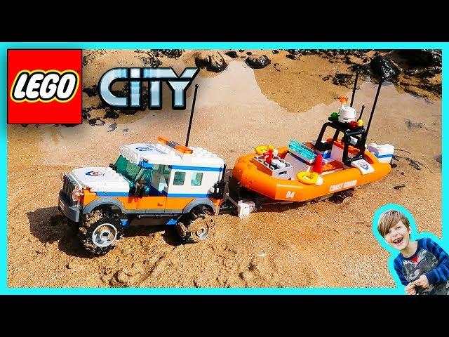 lego city coast guard 4x4 response unit rescue west coast 4x4