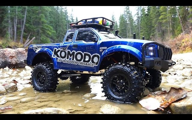 RC ADVENTURES – G Made GS01 Komodo 4×4 1/10 Electric Trail Truck