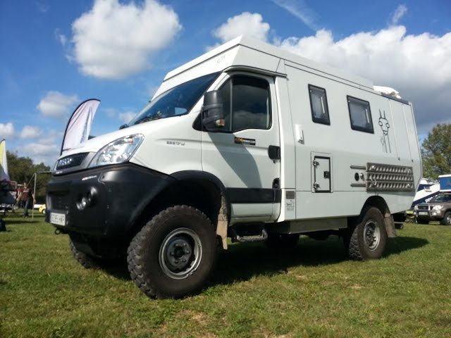 Iveco Daily 4 215 4 Camper Offroad Expedition West Coast 4x4